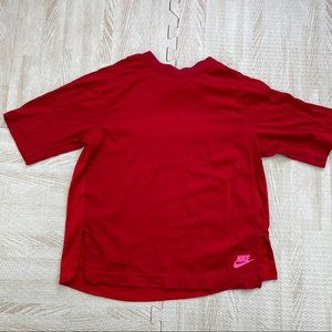 Nike Red & Pink Small athletic Gym Running T shirt